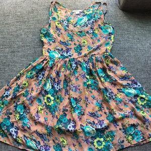 Bar III floral dress
